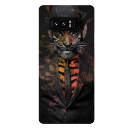 Galaxy Note 8  Wild Business by  (gentlemen,wild,tiger,business,cat,gangster,animals,kitty,animal,danger,smoking)