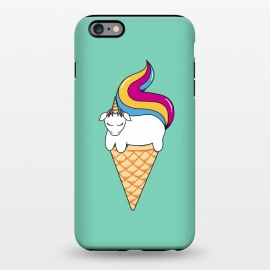 iPhone 6/6s plus  Uni-cone green by Coffee Man