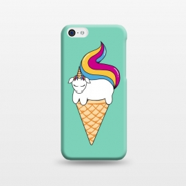 iPhone 5C  Uni-cone green by Coffee Man