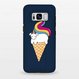 Galaxy S8+  uni-cone blue by Coffee Man