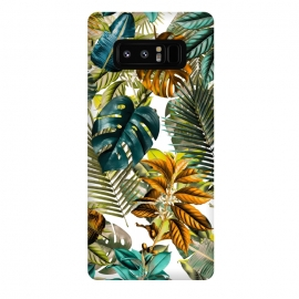 Galaxy Note 8  TROPICAL GARDEN V by  (tropical,botanical,leaf,pattern,summer,spring,flora,garden,forest,jungle,patterns,leafs,bananaleaf,banana,tropic)
