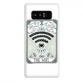 Galaxy Note 8  The Wifi by  (Tarot, card, reading, wifi, funny, magical, spiritual, eye, diamonds, clouds, sun, moon, day, night, stars, magic)
