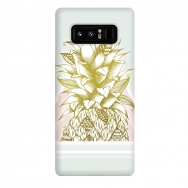 Galaxy Note 8  Golden Pineapple by Barlena
