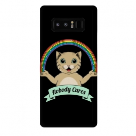 Galaxy Note 8  Nobody Cares by Coffee Man
