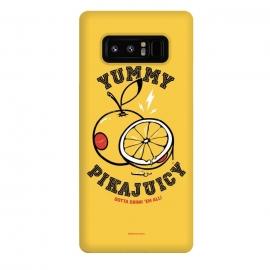Galaxy Note 8  [ba dum tees] Pikajuicy by  (pikachu,anime,pokemon,orange,juice,fruit,animal)