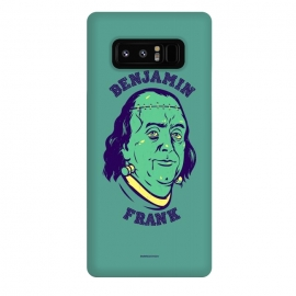Galaxy Note 8  [ba dum tees] Benjamin Frank by Draco (frankenstein,monster,dollar,money,zombie)