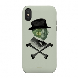 iPhone Xs / X  [Poektica] Money by  (hat,money,dollar,bones,skull)