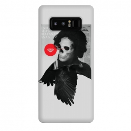 Galaxy Note 8  [Poektica] Wings by  (surreal,collage,skull,diamond,wings,woman,horror)