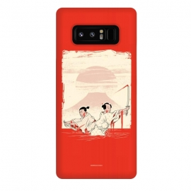Galaxy Note 8  Bloody by  (samurai,sword,katana,japanese,scrool,old,fight,duel)