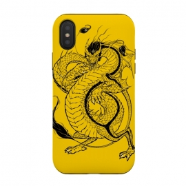 iPhone Xs / X  Bruce, the Dragon by  (bruce,lee,dragon,chinese)