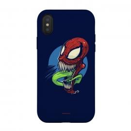 iPhone Xs / X  [nemesis] Spidervenomous by  (spider,spiderman,man,venom,hero,villain,super,marvel)