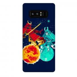 Galaxy Note 8  Eclipse by  (Eclipse, moon,sun,samurai,sword,katana,fight,space,armor)