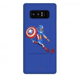 Galaxy Note 8  Kick-Off by  (hero,captain,america,red,skull,shield,marvel)