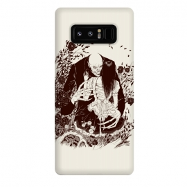 Galaxy Note 8  Nosferatu by Draco (vampire, nosferatu,dracula,woman,horror)