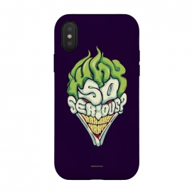 iPhone Xs / X  Why so Serious by  (joker, batman,typography)