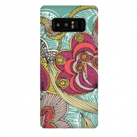 Galaxy Note 8  Beatriz by Valentina Harper (Flowers,colors)