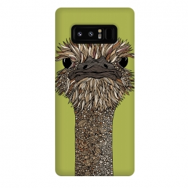 Galaxy Note 8  Hello person by  (ostrich,colors,animals)