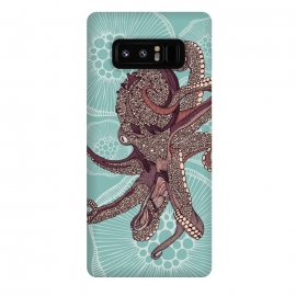 Galaxy Note 8  Octopus by Valentina Harper (Sea,octupus)