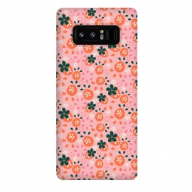 Galaxy Note 8  Fresh Strawberries by Sarah Price Designs (strawberry,pattern,vector)