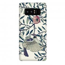 Galaxy Note 8  Among the Olive Trees by Stefania Pochesci (Poppies,bird,Branches,nature,vintage,floral,unique,elegant,classy,fashion,phonecase,decor,design,gift,caseiphone,samsungcase,customcase,art,accessories,techaccessories,style,Vintage,Animals)