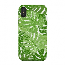 Tropical Leaves by Martina (nature,leaves,palm leaves,banana leaves,tropical,exotic,paradise,stylish,fashionable,modern,cool,unisex)