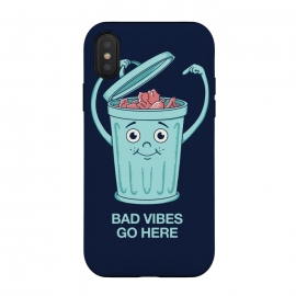 Bad Vibes Go Here by Coffee Man