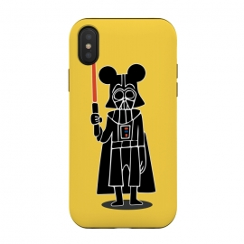 iPhone Xs / X  Darth Vader Mouse Mickey Star Wars Disney by Alisterny (MickeyMouse, Disney, Vader, Starwars,star wars)
