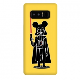 Galaxy Note 8  Darth Vader Mouse Mickey Star Wars Disney by Alisterny (MickeyMouse, Disney, Vader, Starwars,star wars)
