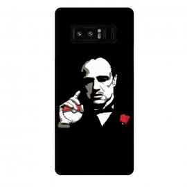 Galaxy Note 8  The Pokefather by Alisterny (pokemongo, pokemon, pokeball, godfather, corleone, vitocorleone, thegodfather,mashup, mashups, funny, popculture, funnytshirt, funnyshirt, tshirt, parody, nerd, geek, geeky, humor, humour, fanart, fan art, movies, movie, film, quotes, cool, design, tee, t-shirt)