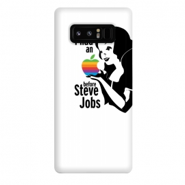 Galaxy Note 8  Snow White I Had An Apple by Alisterny (SnowWhite, Princess, Disney, Princesses, Apple, SteveJobs, iPhone,mashup, mashups, funny, popculture, funnytshirt, funnyshirt, tshirt, parody, nerd, geek, geeky, humor, humour, fanart, fan art, movies, movie, film, quotes, cool, design, tee, t-shirt)