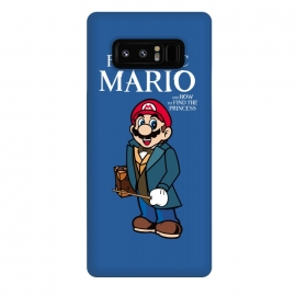 Galaxy Note 8  Fantastic Mario by Alisterny