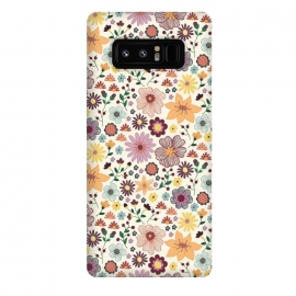 Galaxy Note 8  Wild Bloom by TracyLucy Designs (floral,blooms,pattern,nature)