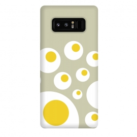 Galaxy Note 8  The Fried Eggs Rebellion II by  (egg,gourmet,foodie,chef,cream color,fried food,game,chicken,cook,hipster,minimal,trendy,fun)