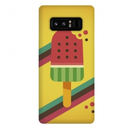 Galaxy Note 8  Hot & Fresh Watermelon Ice Pop by  (ice cream,retro,vintage,ice pop,watermelon,fruits,beach,summer,good vibes,fresh,hipster,trendy,food,gourmet,hot)