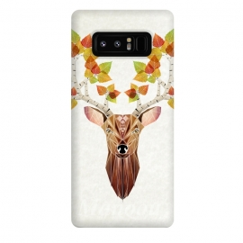Galaxy Note 8  deer autumn by Manoou