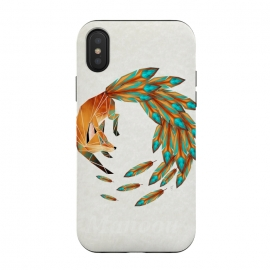 iPhone Xs / X  fox cercle by Manoou
