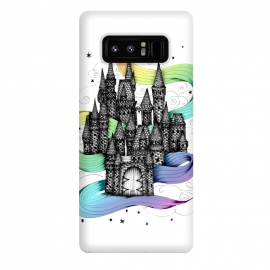 Galaxy Note 8  Super Magic Rainbow Dream Castle by ECMazur