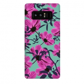 Galaxy Note 8  Floral Explorers by Zala Farah