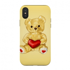 Cute Teddy Bear Hypnotist With Heart by Boriana Giormova