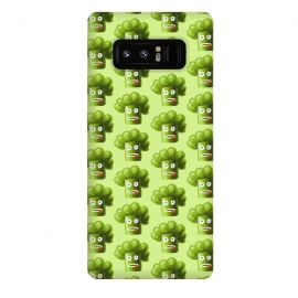 Galaxy Note 8  Funny Broccoli Pattern by Boriana Giormova