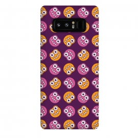 Galaxy Note 8  Cute Cartoon Bugs Pattern by Boriana Giormova