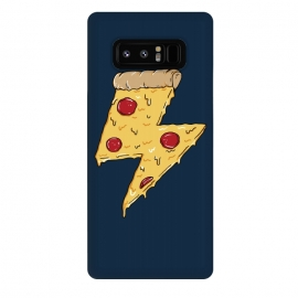 Galaxy Note 8  Pizza Power by Coffee Man (pizza,power, ray,lighting,pepperone,fast food, food, cheese,melted,geek,restaurant, urbarn)