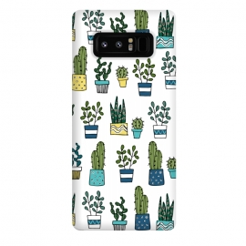 Galaxy Note 8  House Plants by Laura Grant (cacti,cactus,plant)