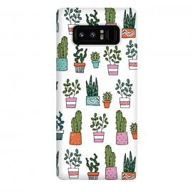 Galaxy Note 8  cacti in pots 2 by Laura Grant (cacti,cactus,house plant,plant,plant pot,crazy plant lady)