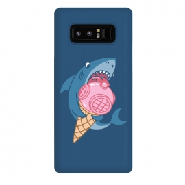 Galaxy Note 8  SHARK AND ICE CREAM by Alexander Medvedev