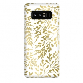 Galaxy Note 8  Foliage Gold by Caitlin Workman