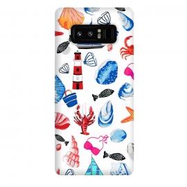 Galaxy Note 8  Beach Comber by  (beach comber,sea,shells,blue,summer,lighthouse,vrabs,sea beach,beach,treasures,fish,boat)