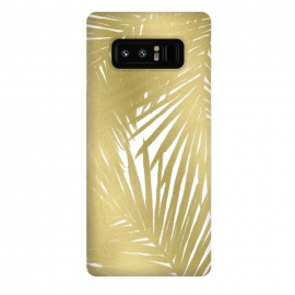 Galaxy Note 8  Gold Palms by Caitlin Workman