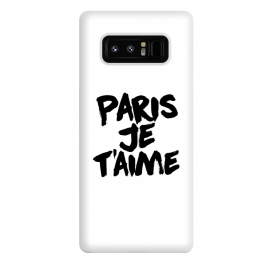 Galaxy Note 8  Paris, Je t'aime by Mitxel Gonzalez (paris,love,amour,france,fashion)