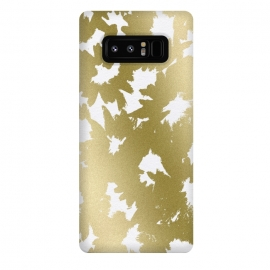 Galaxy Note 8  Gold Floral by